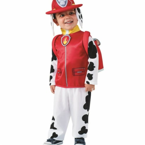 Rubies 283964 Halloween Paw Patrol Boys Marshall Classic Toddler Costume - Medium Perspective: front