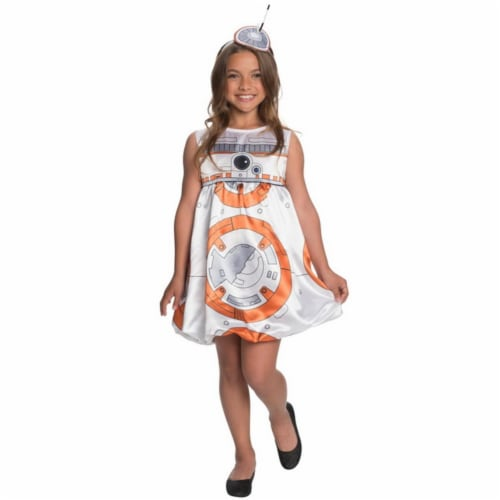 Rubies 245761 Star Wars The Force Awakens - BB-8 Child Romper Costume Perspective: front