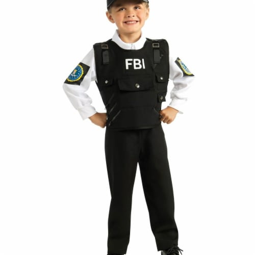 Rubies 279910 Halloween Kids FBI Agent Costume - Large Perspective: front
