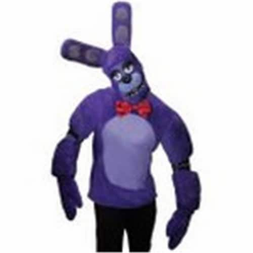 Rubies 245809 Five Nights at Freddys Bonnie Teen Costume Perspective: front