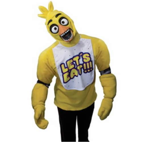 Rubies 245811 Five Nights at Freddys Chica Teen Costume Perspective: front
