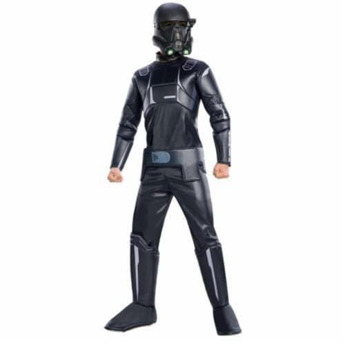 Rubies 245776 Star Wars Rogue One - Shark Trooper Deluxe Child Costume Perspective: front