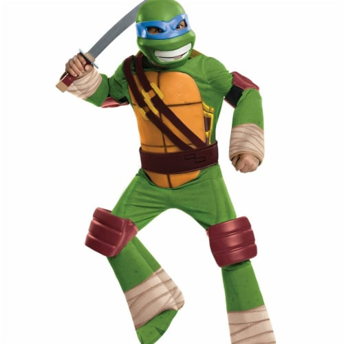 Rubies 274854 TMNT Leonardo Deluxe Costume - Large Perspective: front