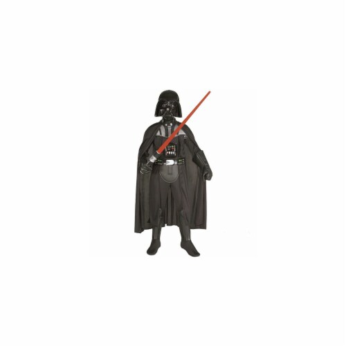 Rubies Costume Co 19106 Star Wars Darth Vader Deluxe Child Costume Size Medium- Boys 8-10 Perspective: front