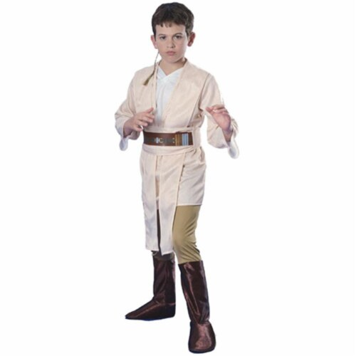 Rubies Costume Co 18790 Star Wars Obi-Wan Deluxe Child Costume Size Medium- Boys 8-10 Perspective: front