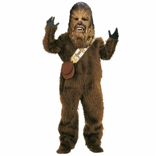 Rubies Costume Co 18789 Star Wars Chewbacca Super Deluxe Child Costume Size Small- Boys 4-6 Perspective: front
