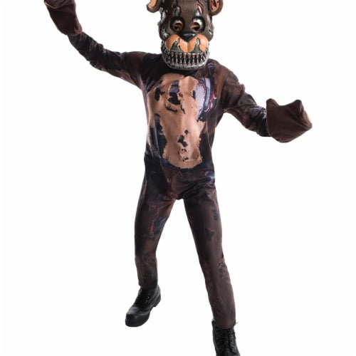 Rubies 272176 Five Nights At Freddys Nightmare Freddy Child Costume - Large Perspective: front