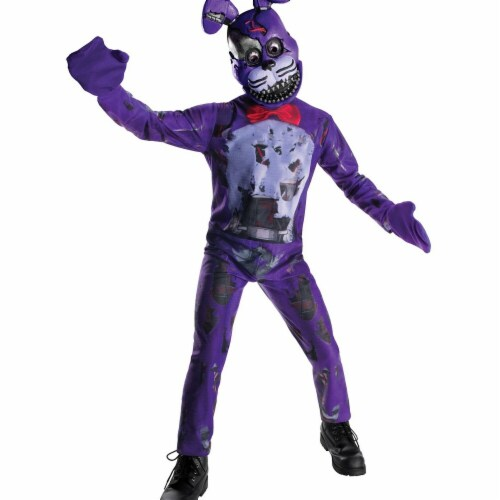 Rubies 272172 Five Nights At Freddys Nightmare Bonnie Child Costume - Medium Perspective: front