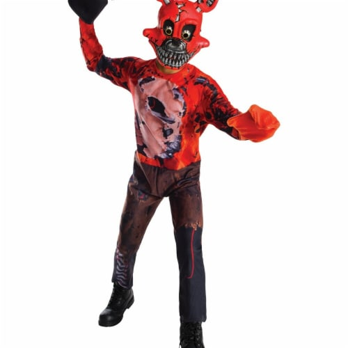 Rubies 272173 Five Nights At Freddys Nightmare Foxy Child Costume - Large Perspective: front