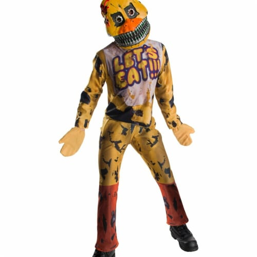 Rubies 273979 Five Nights At Freddys Chica Child Costume - Medium Perspective: front