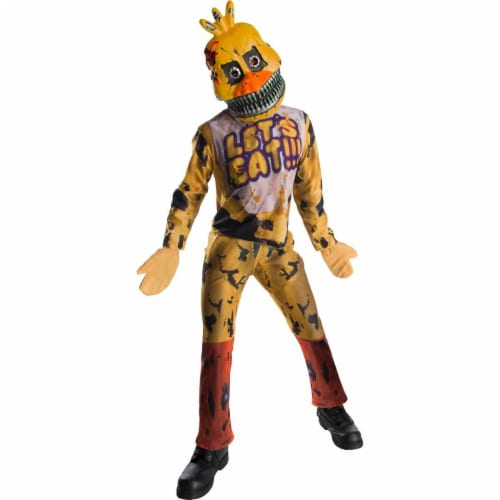 Rubies 273978 Five Nights At Freddys Chica Child Costume - Large Perspective: front