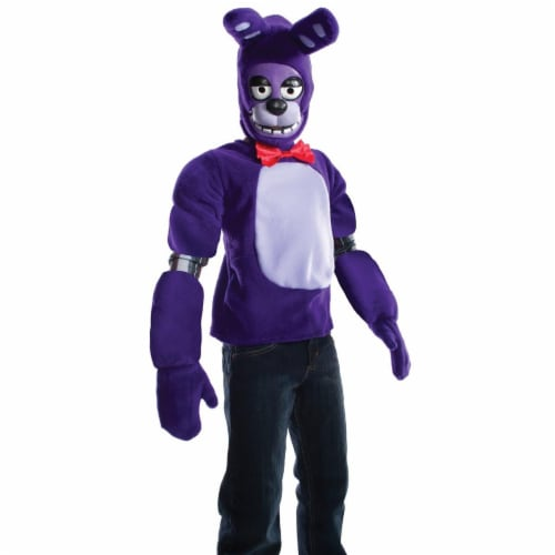 Rubies 273983 Five Nights At Freddys Bonnie Child Costume - Large Perspective: front
