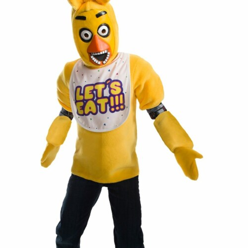 Rubies 273985 Five Nights At Freddys Chica Deluxe Child Costume - Large Perspective: front