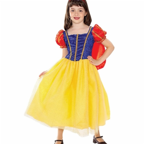 BuySeasons 286774 Girls Cottage Princess Costume, Small Perspective: front