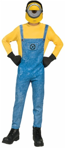 Rubies Children's Small Despicable Me 3 Minions Mel Costume - Blue/Yellow Perspective: front