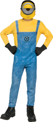 Rubies Children's Medium Despicable Me 3 Minions Mel Costume - Blue/Yellow Perspective: front
