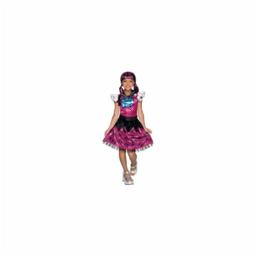 Rubies 249236 Monster High Childs Draculaura Costume, Large Perspective: front