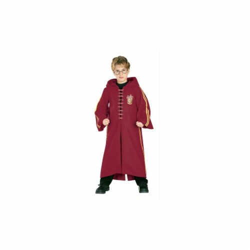 Costumes For All Occasions RU882173LG Harry Potter Quidditch Child L Perspective: front