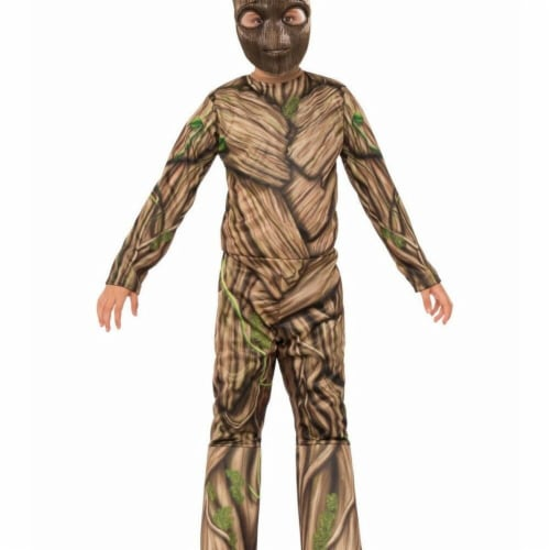 BuySeasons 286643 Kids Groot Costume, Small Perspective: front
