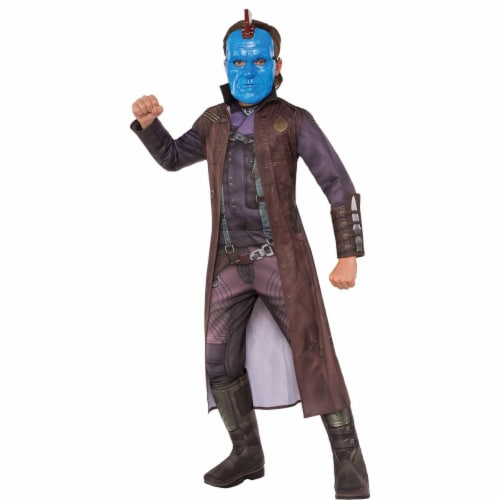 Rubies 274011 Guardians of The Galaxy Yondu Deluxe Child Costume - Small Perspective: front