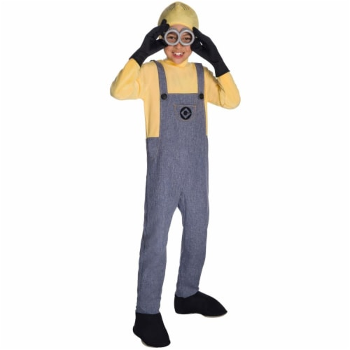 Rubies 274018 Minion Dave Deluxe Child Costume - Small Perspective: front