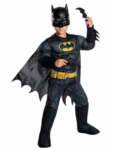 Seasons Children's Small Batman Deluxe Costume Perspective: front