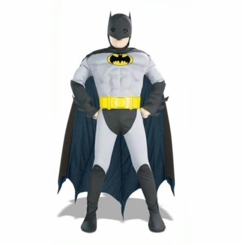 Costumes For All Occasions RU882211SM Batman Musc Chest Child Sm Perspective: front