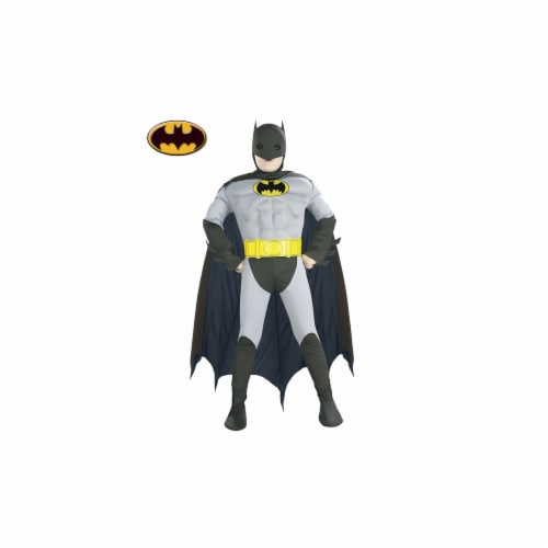Rubies Costume Co R882211-M Muscle Chest Batman Kids Costume Size Medium Perspective: front