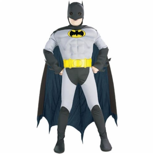 Rubies Costume Co 5590 Batman with Chest Child Costume Size Large- Boys 12-14 Perspective: front