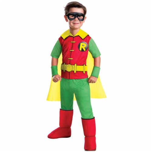 Rubies 272310 Robin Deluxe Child Costume - Small Perspective: front