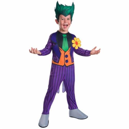 Rubies 278845 Halloween Kids Joker Costume - Medium Perspective: front