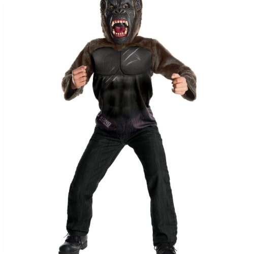 Rubies 272419 King Kong Deluxe Child Costume - Large Perspective: front