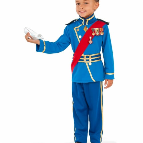 Rubies 274072 Royal Prince Child Costume - Medium Perspective: front