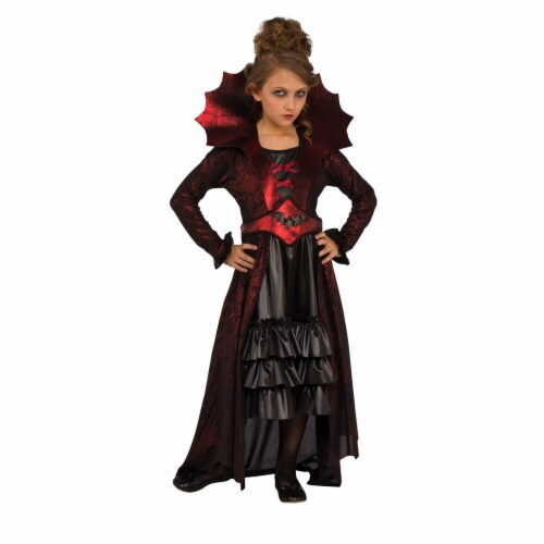 Rubies 274041 Victorian Vampire Child Costume - Small Perspective: front