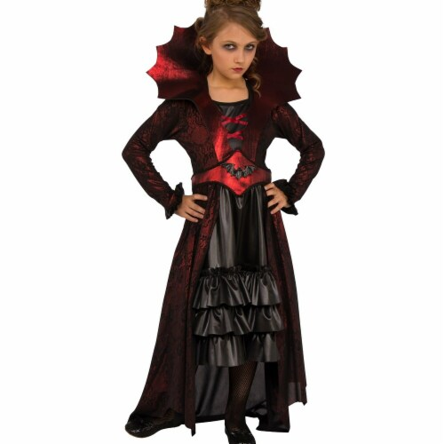 Rubies 274040 Victorian Vampire Child Costume - Medium Perspective: front