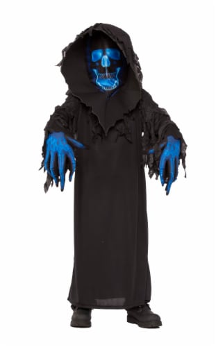 Rubies 274047 Skull Phantom Child Costume - Small Perspective: front