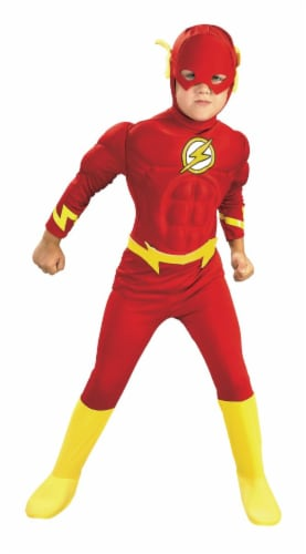 Seasons Children's Small Flash Muscle Chest Costume Perspective: front