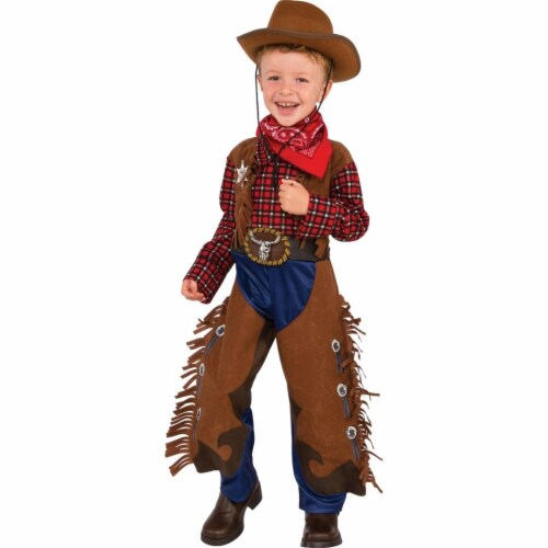 Rubies Costume 273954 Little Wrangler Child Costume, Small Perspective: front