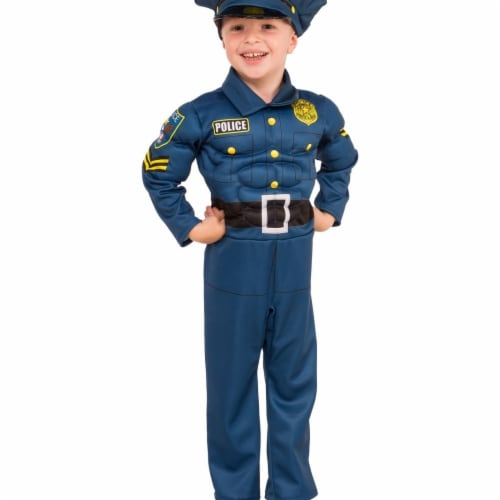 Rubies Costume 273965 Top Cop Child Costume, Small Perspective: front