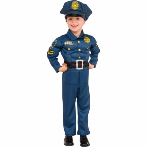 Rubies Costume 273967 Top Cop Child Costume, Medium Perspective: front