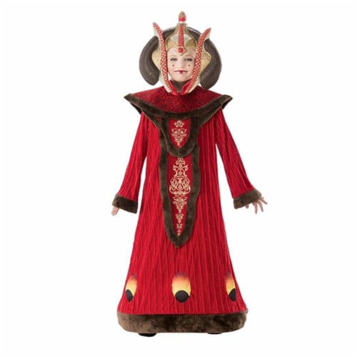 Rubie's RU630983LG Girls Queen Amidala Child Costume - Large 12-14 Perspective: front