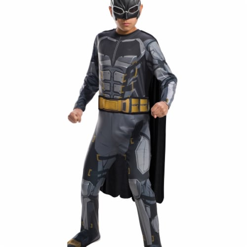 Rubies 274628 Justice League Boys Tactical Batman Costume - Medium Perspective: front