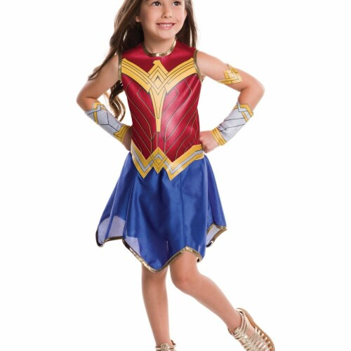 Rubie's Costume Company Youth Wonder Woman Costume - M Perspective: front