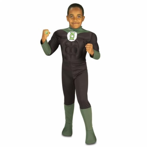 Costumes For All Occasions Ru82391Lg Green Lantern Large Child Perspective: front