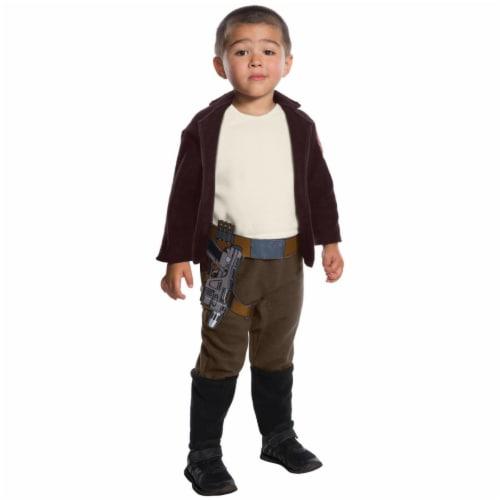 Rubies Costume 271788 Star Wars Episode VIII - The Last Jedi Poe Dameron Costume, Toddler Siz Perspective: front