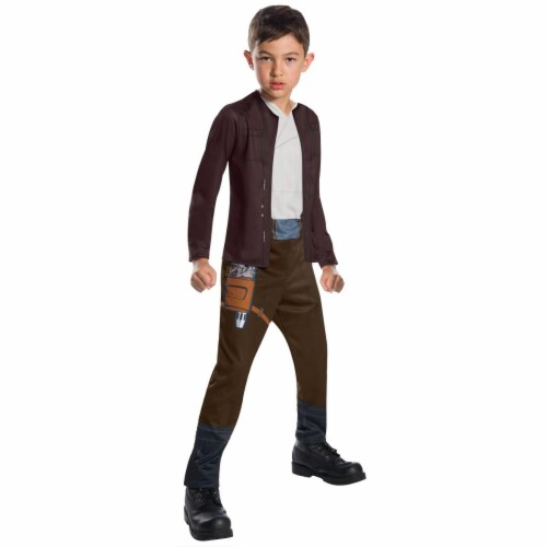 Rubies 271794 Star Wars Episode VIII - The Last Jedi Boys Poe Dameron Costume - Large Perspective: front