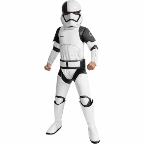 Rubies 271813 Star Wars Episode VIII - The Last Jedi Super Deluxe Child Executioner Trooper C Perspective: front
