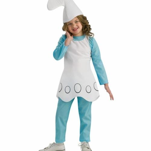 Rubies 272164 Smurfette Child Costume - Medium Perspective: front
