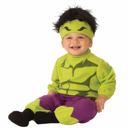 Rubies Costume 272025 Hulk Infant Romper 6-12 Months Perspective: front