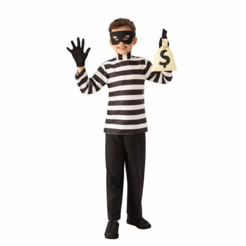 Rubies 279565 Halloween Child Burglar Costume - Large Perspective: front